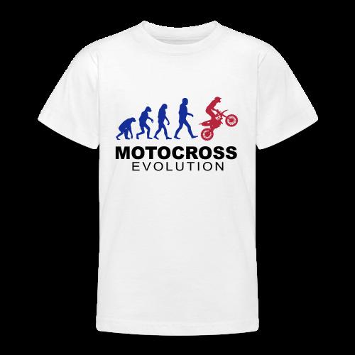 Motocross Evolution - T-shirt Ado