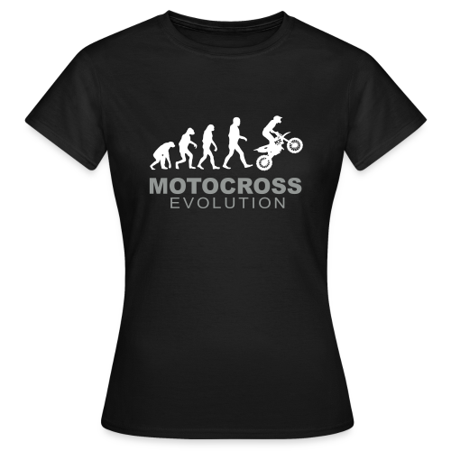 Motocross Evolution - T-shirt Femme
