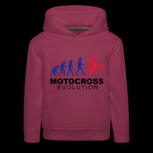 Motocross Evolution - Pull à capuche Premium Enfant