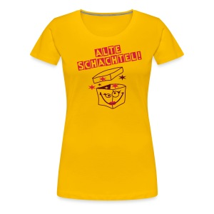 Schachtel-Party! - Frauen Premium T-Shirt