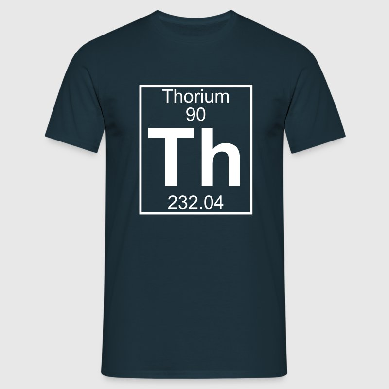 Thorium (Th) (element 90) - Men's T-Shirt