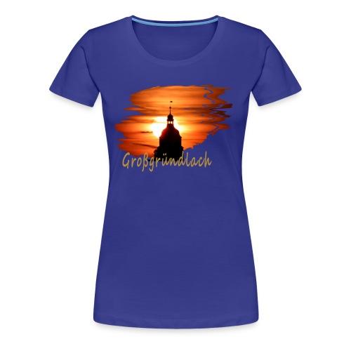 Großgründlach bunt - Frauen Premium T-Shirt