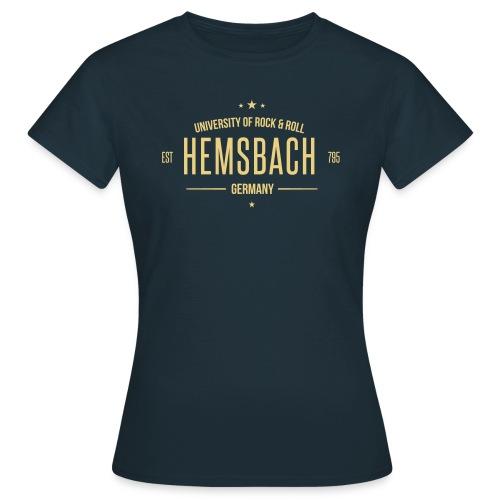 Hemsbach University Girls-Shirt - Farbe frei wählbar! - Frauen T-Shirt