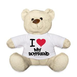 I Love My Boyfriend Miś - Miś w koszulce