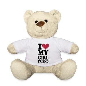 I Love My Girlfriend Miś - Miś w koszulce