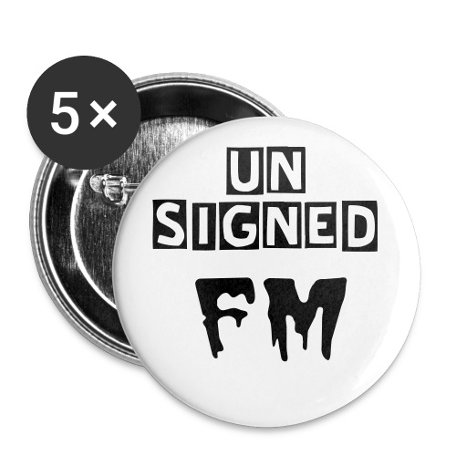 Unsigned FM buttons - Buttons large 56 mm