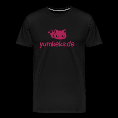 yumkeks.de T-Shirt - Männer Premium T-Shirt