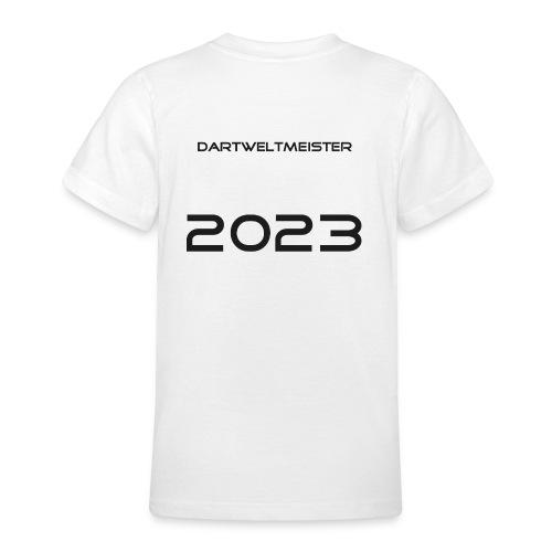 Kindershirt klassisch WM2023 - Teenager T-Shirt