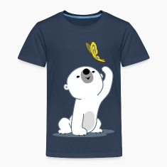 Cute Cartoon Polar Bear Cub by Cheerful Madness!! Shirts