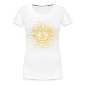 Fuck Illuminati T-Shirt - Koszulka damska Premium