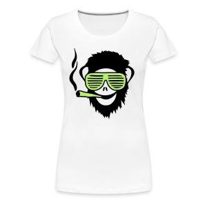 Monkey Face T-Shirt - Koszulka damska Premium