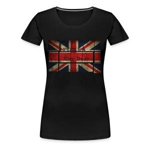 Punks Not Dead T-Shirt - Koszulka damska Premium
