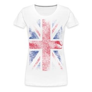 Union Jack T-Shirt - Koszulka damska Premium