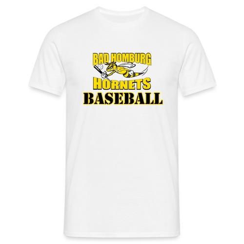 Hornets Baseball WHT - Männer T-Shirt