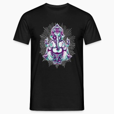Black shiva Men's Tees