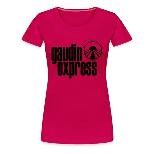 T-Shirt Gaudin Express - Version STAFF - T-shirt Premium Femme
