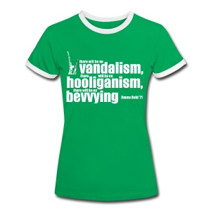 No Bevvying - Women's Ringer T-Shirt