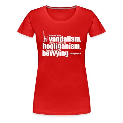 No Bevvying - Women's Premium T-Shirt