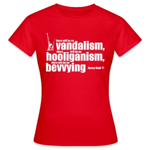 No Bevvying - Women's T-Shirt