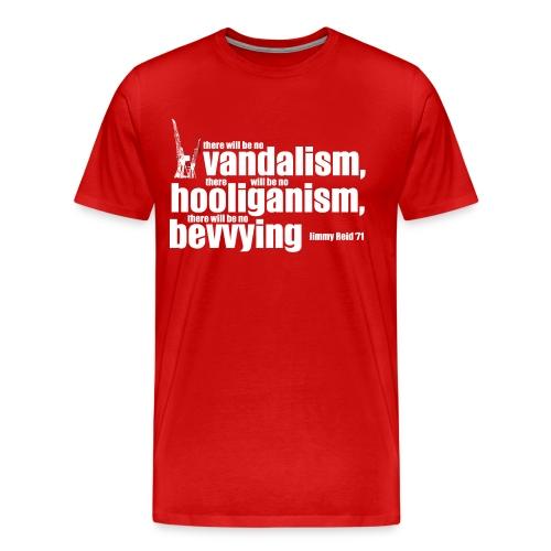 No Bevvying - Men's Premium T-Shirt