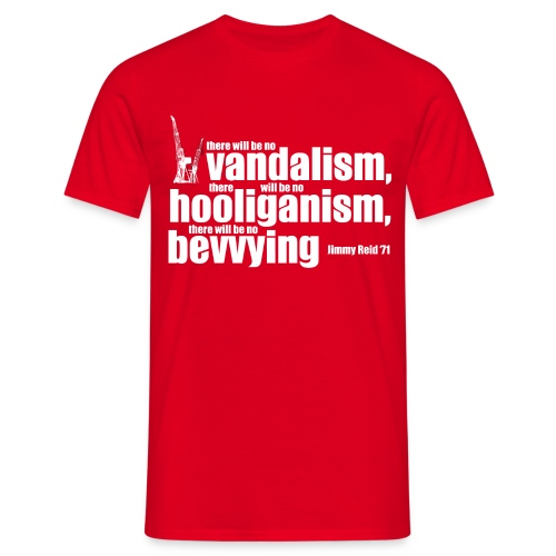 No Bevvying - Men's T-Shirt