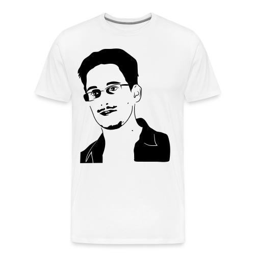 Snowden Shirt - Männer Premium T-Shirt