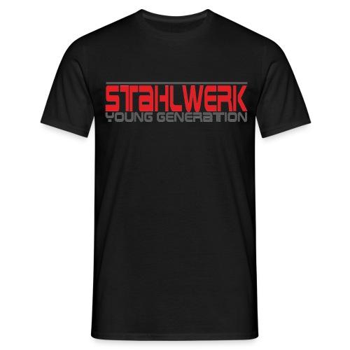 Mittelfinger - T´Shirt  - Männer T-Shirt