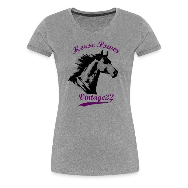 Horse Power Vintage T-Shirt