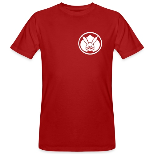 Usagi - Hasen Mon - Männer Bio-T-Shirt