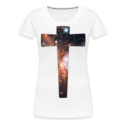Cosmic Cross  - Women's Premium T-Shirt