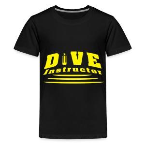 Dive Instructor - Teenager Premium T-Shirt
