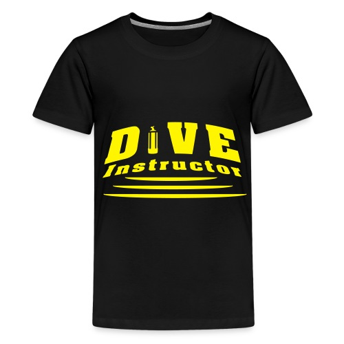 Dive Instructor - Teenager Premium T-Shirt