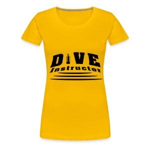 Dive Instructor - Frauen Premium T-Shirt