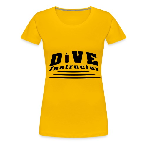 Dive Instructor - Frauen Premium T-Shirt