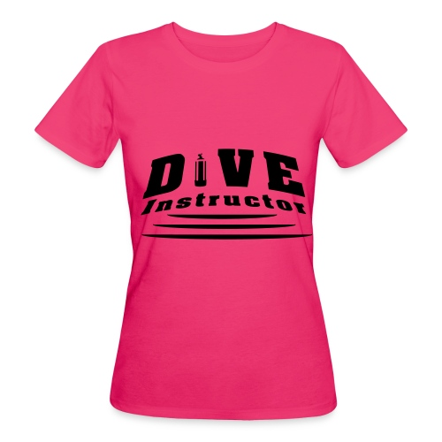 Dive Instructor - Frauen Bio-T-Shirt