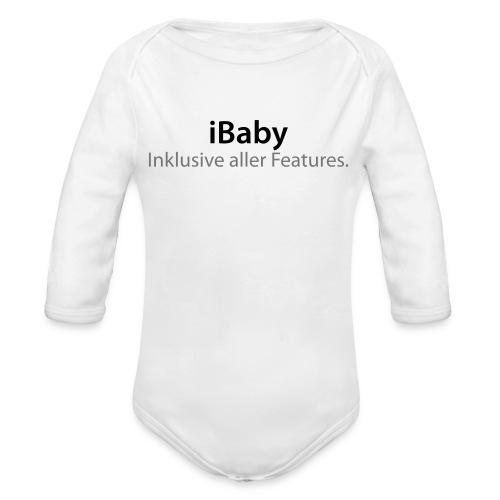 iBaby 1 - Baby Bio-Langarm-Body