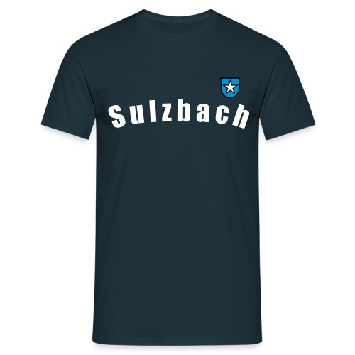 Sulzbach mit Wappen Kerweparre a. D. - Männer T-Shirt