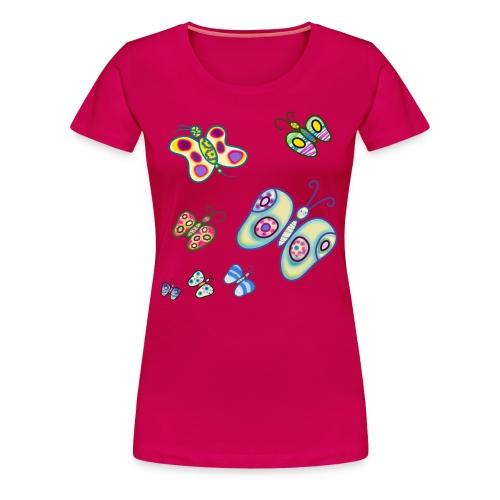 Allegria di farfalle - Maglietta Premium da donna
