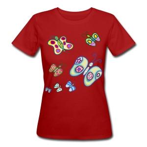 Allegria di farfalle Magliette - T-shirt ecologica da donna