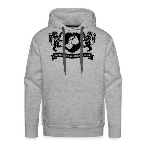 Klassik Hoodie schwarz/grau - Männer Premium Hoodie