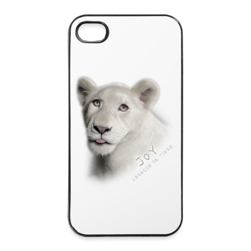 Coque iPhone 4/4S Joy langue - Coque rigide iPhone 4/4s