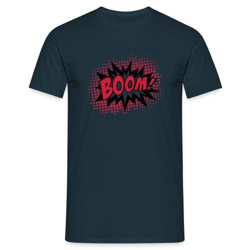 BoomShirt - Maglietta da uomo