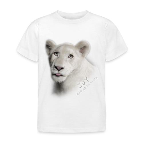 T-Shirt Enfant Joy langue - T-shirt Enfant