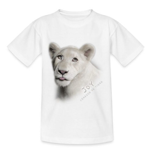 T-Shirt Ado Joy langue - T-shirt Ado