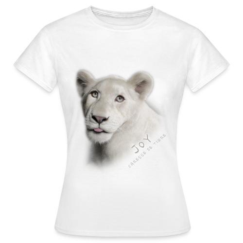 T-Shirt Femme Joy langue - T-shirt Femme