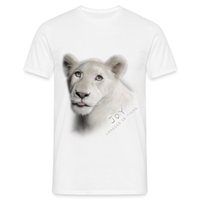 T-Shirt Homme Joy langue