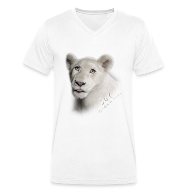 T-Shirt Homme V Joy langue
