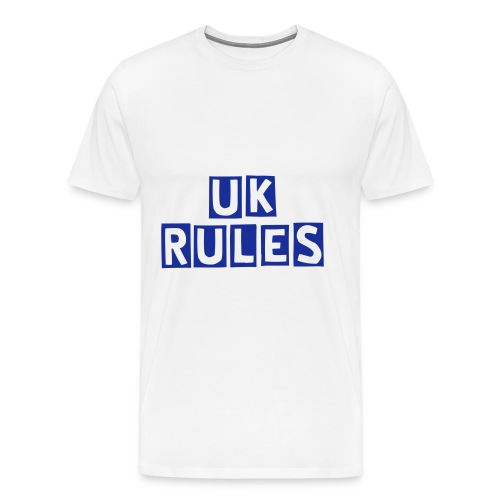 UK Rules Teeshirts in Various colours.  - Men's Premium T-Shirt