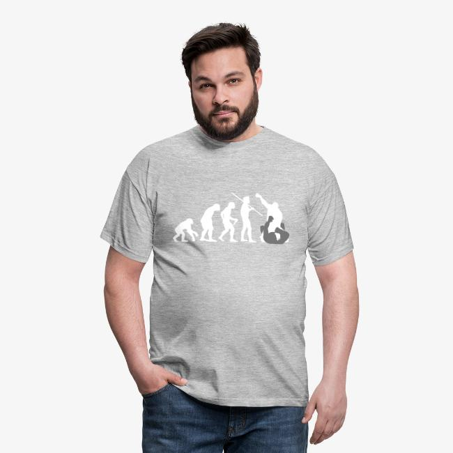 "Men's ""Evolution of Man - MMA #1"" T-Shirt"