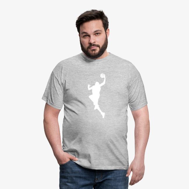 """Men's """"Basketball #7"""" T-Shirt"""